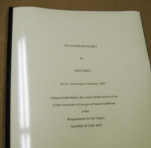 thesis uga
