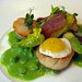 Pan fried sea scallops from the Isle of Skye by Renée S. Suen
