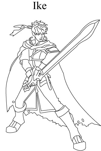 Super Smash Bros Brawl Coloring Pages