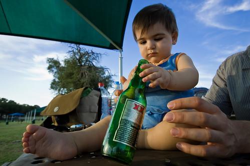 portrait baby beer bottle nikon texas canyonlake dosequis sigma1020mm d40