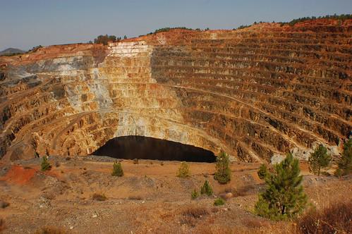 mineria, cielo abierto, Alumbrera, Catamarca, Argentina, skizzo