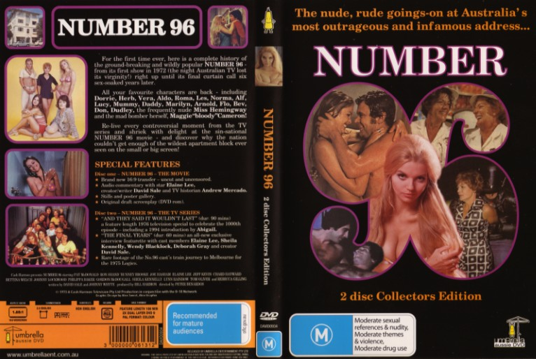 Number 96: The Movie: 2 disc Collectors Edition