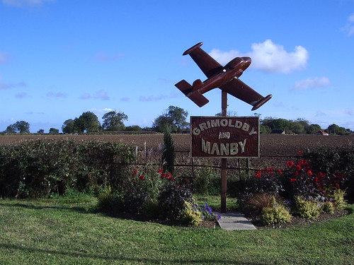 Grimoldby and Manby Village Sign