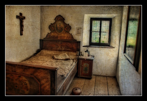 Antic dormitori tirolès // Old Tyrolean Bedroom