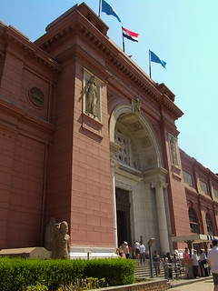 The Egyptian Museum in Caïro
