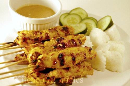 Chicken Satay – After