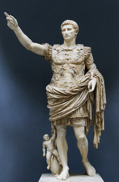 Augustus of Prima Porta from Flickr via Wylio