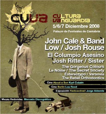 Cartel CUVA 2008