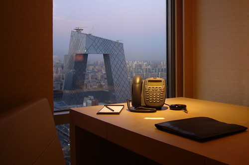 Park Hyatt Beijing: CCTV Tower View