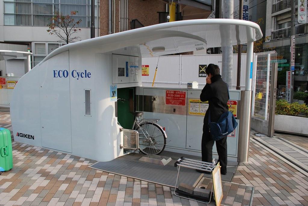 [组图] 超眩地下停车库 自动停放自行车(20P) - 路人@行者 - 路人@行者