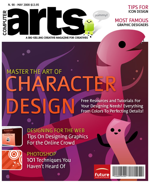 Computer Arts Magazine Cover