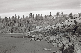 Image of Wreck Beach (Clothing Optional) near West End. beach photography bc bruce wreck mcpherson