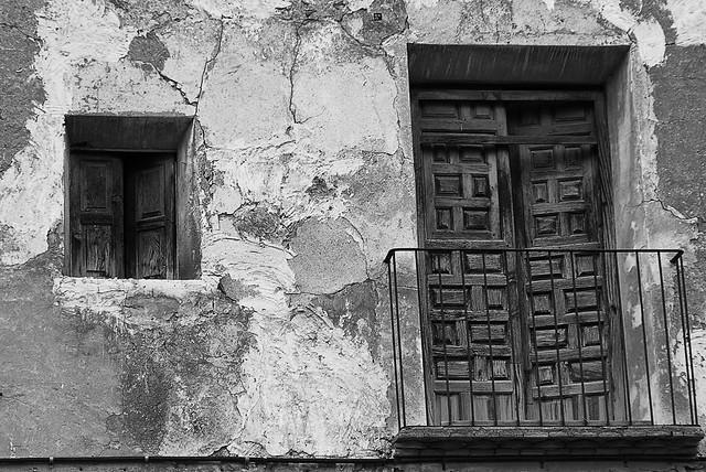 Door & window Convento De San Fransisco Mula