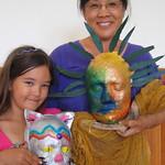 Honolulu Academy of Arts: Pam and Reiko
