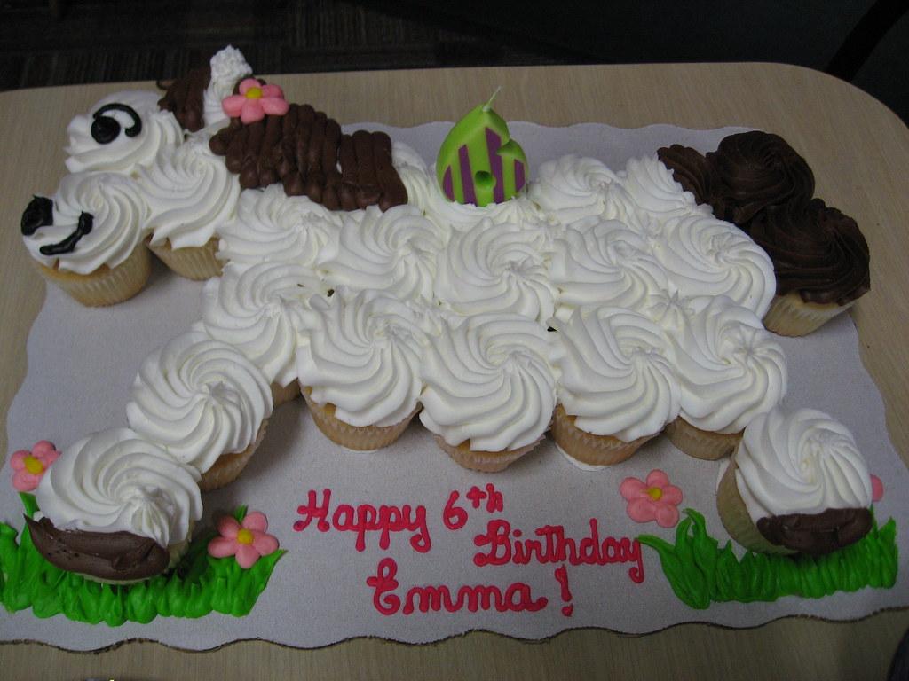 Horse Cupcake Birthday Cake A Truly Genius Idea Luis