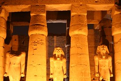 luxor temple at dusk, thebes, egypt 13