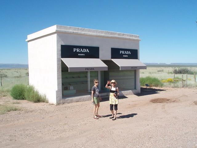 www prada com bags - fake prada store in the middle of nowhere - The Middle of Nowhere ...