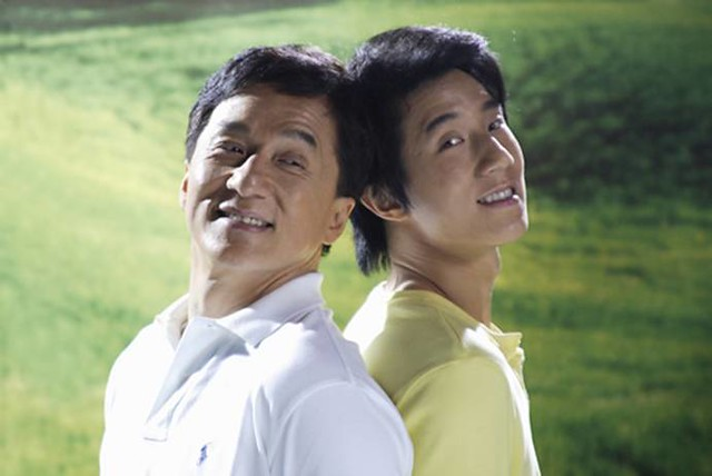 jackie chan and his family - photo #4