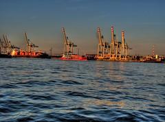 Hamburg Harbor HDR