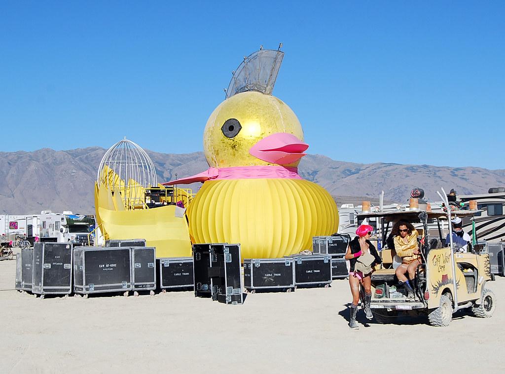 by Ron Reason Burning Man 08: kick-ass duck! | by Ron Reason