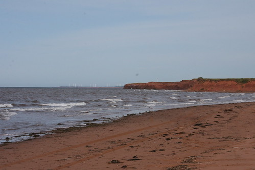 beach northwest coastline pei