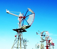 radio telescope(0.0), vehicle(0.0), mill(0.0), mast(0.0), wind(0.0), electricity(0.0), telecommunications engineering(0.0), wind turbine(0.0), machine(1.0), windmill(1.0),