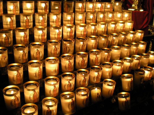 Candles for the Virgin