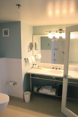 Corner Suite Master Bath at Sheraton Cable Beach - Nassau, Bahamas