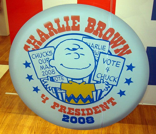 Vote For Me charlie brown