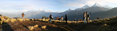 Himalayas des de Poon Hill (Nepal).