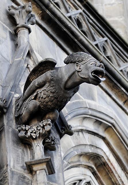prague gothic cathedral gargoyle flickr photo sharing