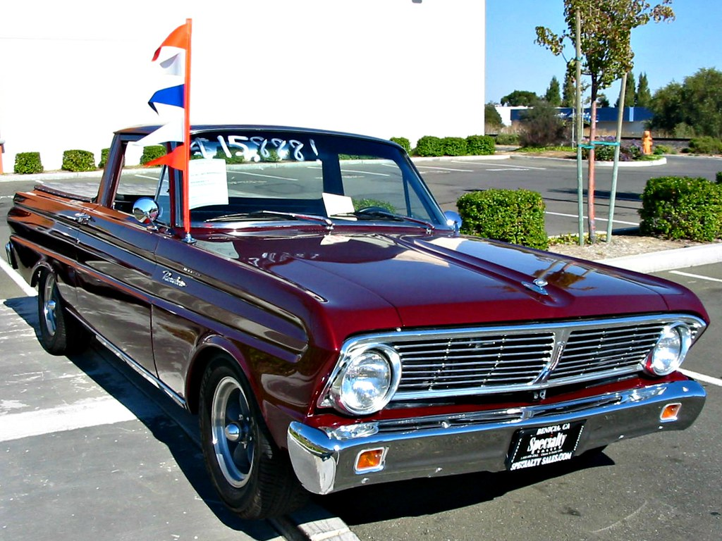 1964 Ford Falcon Ranchero With 1966 Grill Custom 1 A Photo On For Sale