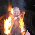 dick cheney effigy burning on guy fawkes day 08