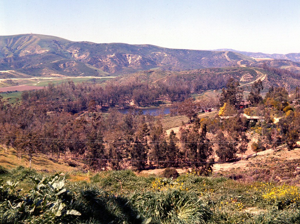Peters Canyon Rd., Tustin, March 1966