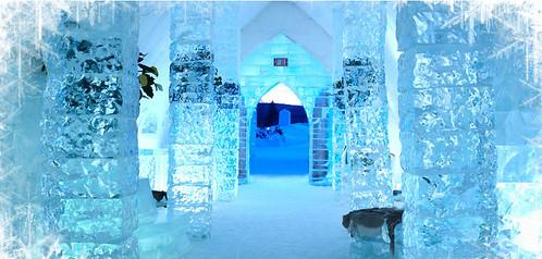 冰屋一景/Ice Hotel Québec