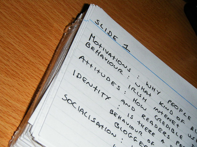 Cue Cards   Flickr - Photo Sharing!