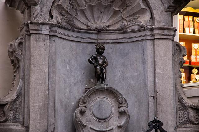 Manneken Pis (Petit Julien), Brussels, Belgium