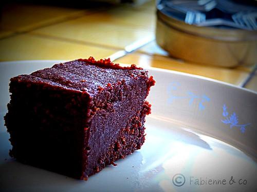 La recette du dimanche g teau au chocolat sans farine the fondant au chocolat lost in london - Gateau au chocolat sans farine ...