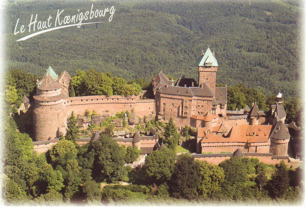 Castle Haut Koenigsbourg, Alsace, France