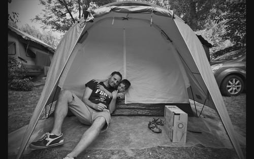 In campeggio: il video