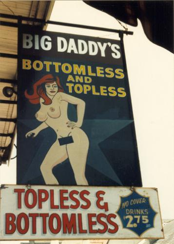 Bottomless strip club