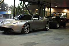automobile(1.0), tesla(1.0), automotive exterior(1.0), tesla roadster(1.0), vehicle(1.0), performance car(1.0), automotive design(1.0), land vehicle(1.0), luxury vehicle(1.0), convertible(1.0), supercar(1.0), sports car(1.0),
