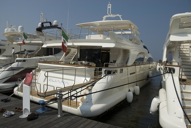The 2nd annual Azimut Yachting Gala - a private boat show for some 2000 of ...