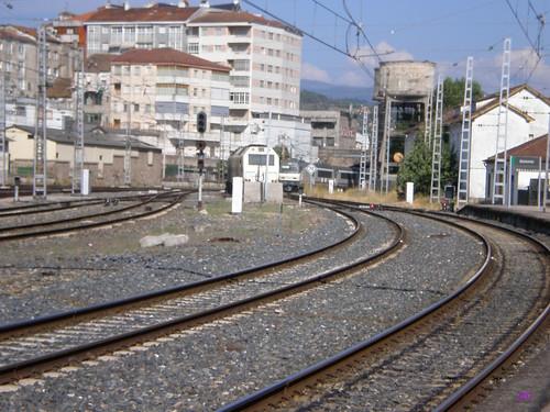 Vías estación Irun