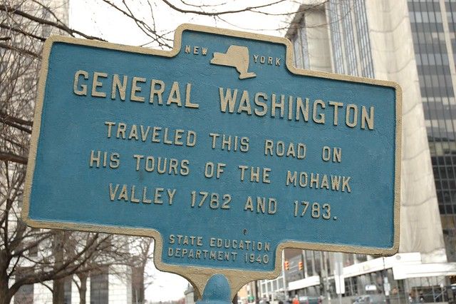 General Washington marker