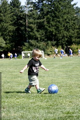 sequoia continues to practice on our second soccer f…