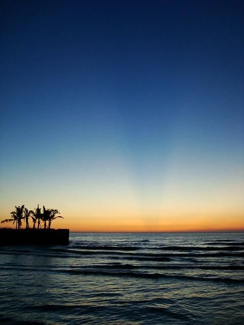Sunset at Currimao Beach 2