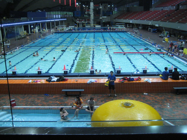 Piscine olympique de montr al piscine olympique de for Piscine olympique