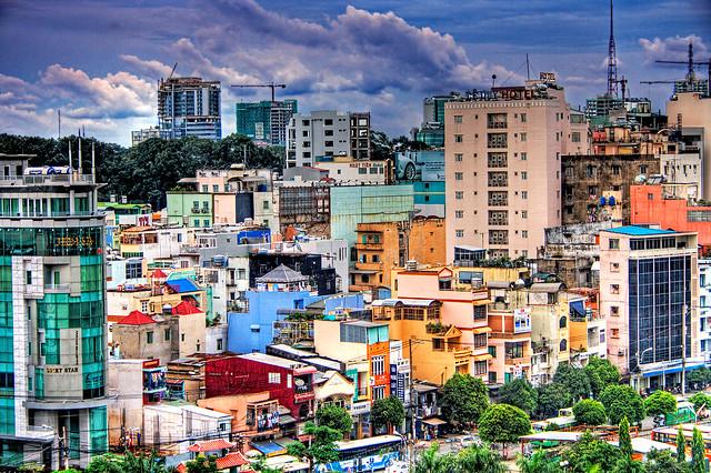 Saigon. Paysage urbain
