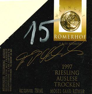1997 - Mehringer Zellerberg (Mosel) in Trier